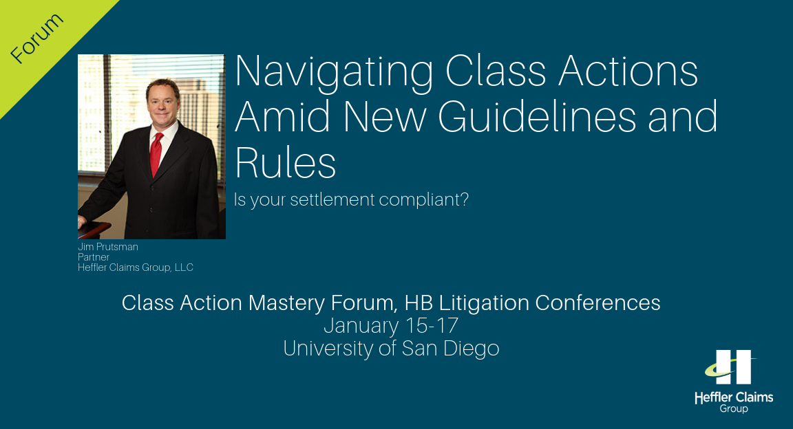 Register Now: Navigating Class Action Settlements Amid New Guidelines and Rules
